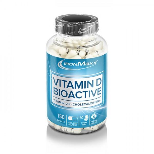 Ironmaxx Vitamin D Bioactive (150 Kapseln)