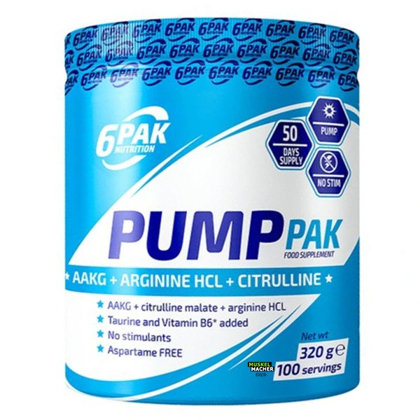 6Pak Nutrition Pump Pak