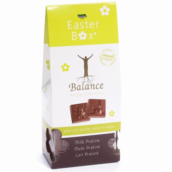 Balance Belgian Chocolate 85% Less Sugar Easter Box